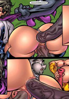Alien Orgy Farm 2- Terrible Fate of Susan Steel image 85