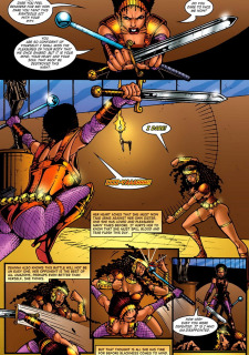 Amazon Empress Red Hot Heroines image 43