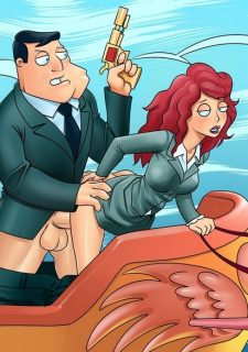 American Dick- Cartoon Reality image 32