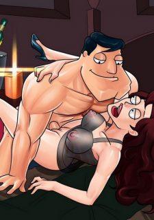 American Dick- Cartoon Reality image 33