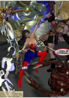 American Fox- Superheroine Central image 10
