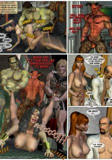 American Fox- Superheroine Central image 17