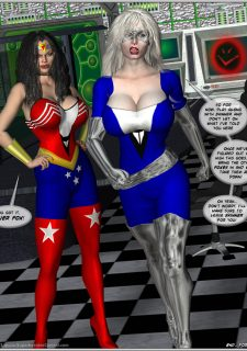 American Fox- Superheroine Central porn comics 8 muses