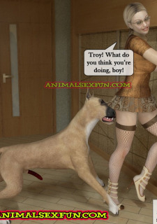 Animal Sex in Incest Family image 07