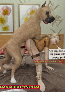 Animal Sex in Incest Family image 15