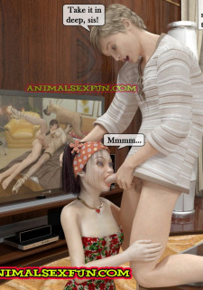 Animal Sex in Incest Family image 40