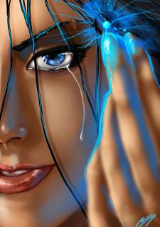 Corey Knaebel's art-RayArtz SuperGirls image 03