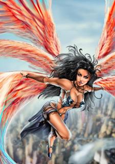 Corey Knaebel's art-RayArtz SuperGirls image 13