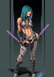 Corey Knaebel's art-RayArtz SuperGirls image 17