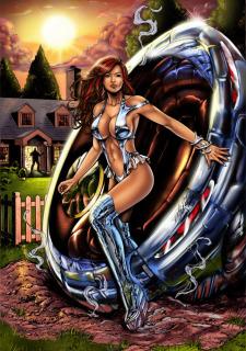 Corey Knaebel's art-RayArtz SuperGirls image 18