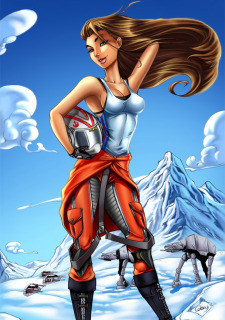 Corey Knaebel's art-RayArtz SuperGirls image 22