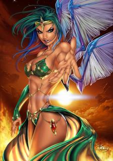 Corey Knaebel's art-RayArtz SuperGirls image 31