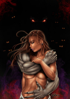 Corey Knaebel's art-RayArtz SuperGirls image 41