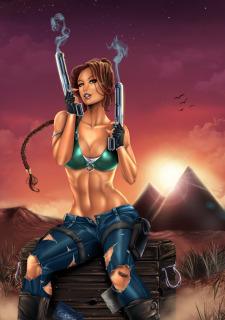 Corey Knaebel's art-RayArtz SuperGirls image 44