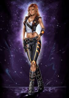 Corey Knaebel's art-RayArtz SuperGirls image 45