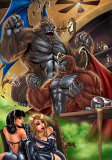 Corey Knaebel's art-RayArtz SuperGirls image 52