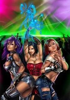 Corey Knaebel's art-RayArtz SuperGirls image 56