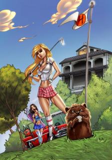 Corey Knaebel's art-RayArtz SuperGirls image 59
