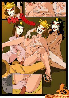Avatar Sex Comics image 16