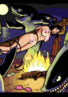 Landsharks Invade porn comics 8 muses