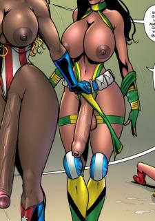 Barbie Bolt- Superheroine Comixxx image 85