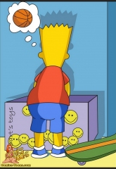 Bart Entrapped- Simpsons image 02