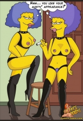 Bart Entrapped- Simpsons image 06