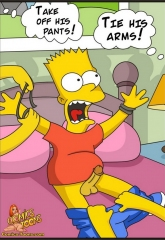 Bart Entrapped- Simpsons image 07