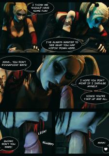 Batman & Harley Quinn- Plaything (Vaurra) image 3