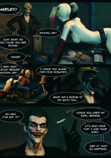 Batman & Harley Quinn- Plaything (Vaurra) image 7
