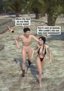 Beach Threesome Sex- 3D <a class=