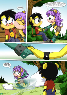 Betrayal- Sonic the Hedgehog-Palcomix image 3