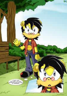 Betrayal- Sonic the Hedgehog-Palcomix image 4
