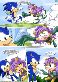 Betrayal- Sonic the Hedgehog-Palcomix image 5