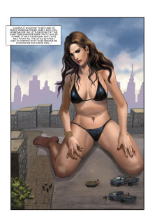 The Biggest Strip 3- GiantessFan image 03