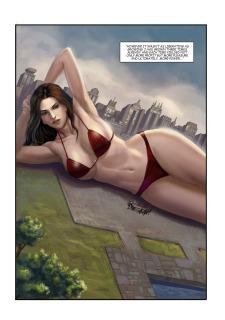 The Biggest Strip 3- GiantessFan image 05