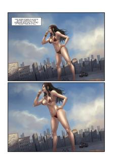 The Biggest Strip 3- GiantessFan image 06