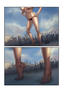 The Biggest Strip 3- GiantessFan image 07