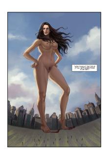 The Biggest Strip 3- GiantessFan image 08