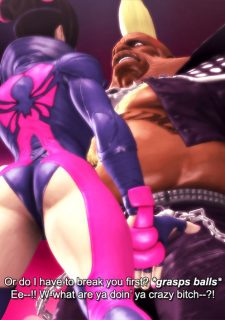 Street Fighter- Fucking with Juri image 4