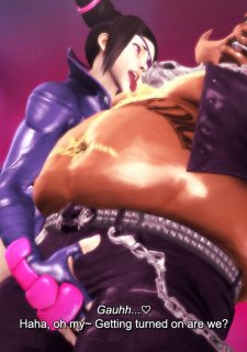 Street Fighter- Fucking with Juri image 5