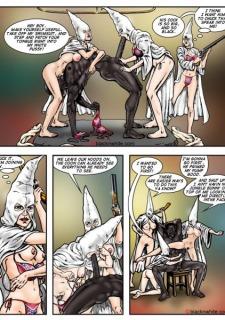 Dixie Sluts- BlacknWhite image 06