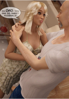 Blond bombshell Girl Screwed by her dad image 4
