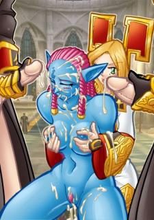 Bondage-World of Warcraft Fantasy image 02