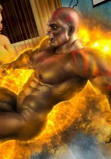 Brutal Interracial -3D Monster Hardcore image 05