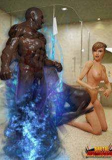 Brutal Interracial -3D Monster Hardcore image 34