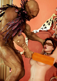 Brutal Interracial -3D Monster Hardcore image 49