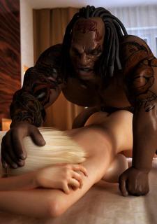 Brutal Interracial -3D Monster Hardcore porn comics 8 muses