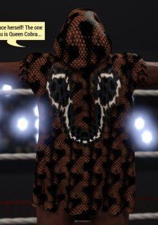 Bunny Markes Vs Queen Cobra- Squarepeg3D image 4