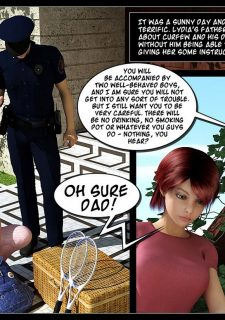 Busted-The Picnic,IncestChronicles3D image 02